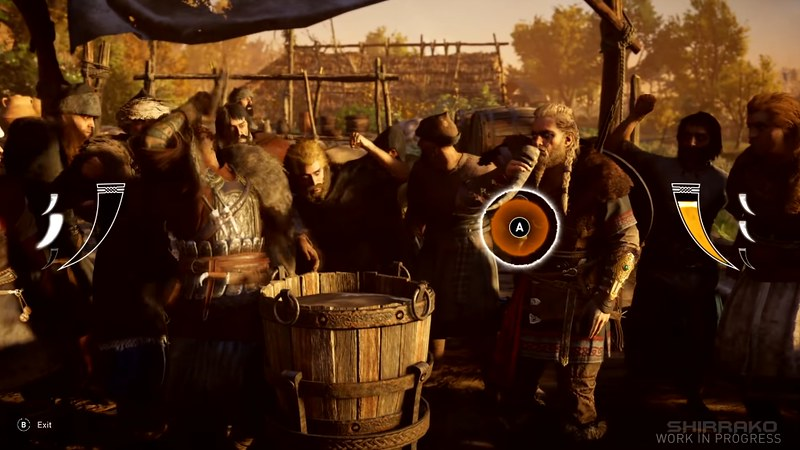 Assassin's Creed Valhalla - Drinking Mini-Game
