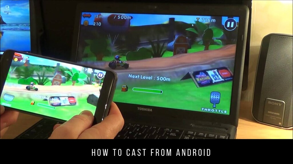 How to cast from Android