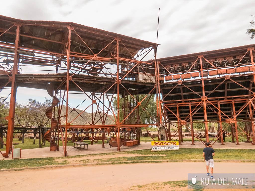 Estación Nº1 de la Mina La Mejicana en Chilecito