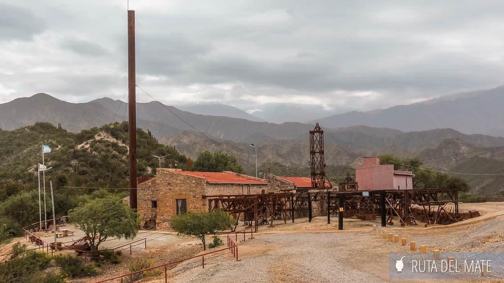 Estación Nº2 de la Mina La Mejicana en Chilecito