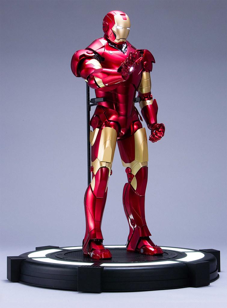 附錄全高 60 公分的鋼鐵人馬克3 組裝模型!週刊《鋼鐵人》創刊號 8月發售(週刊『アイアンマン』)全100號