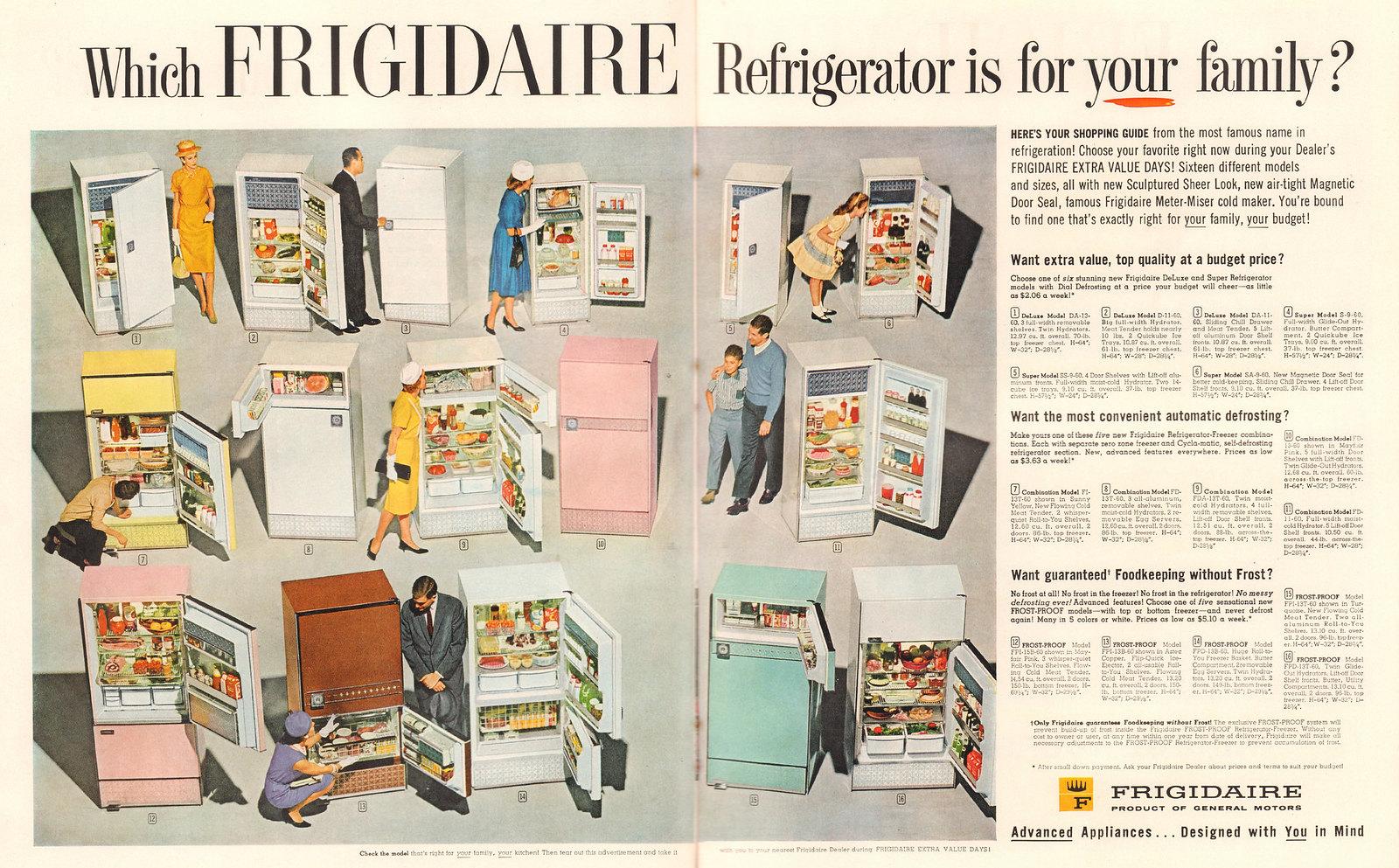 Frigidaire 1960