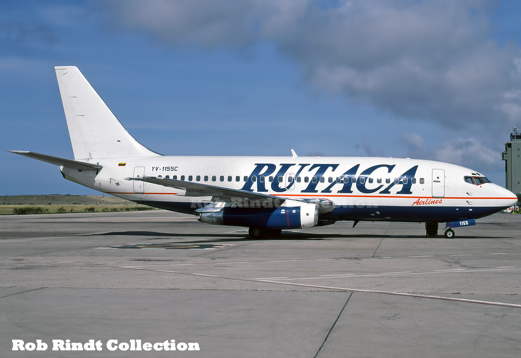 Rutaca Airlines B737-2S3/Advanced YV-1155C