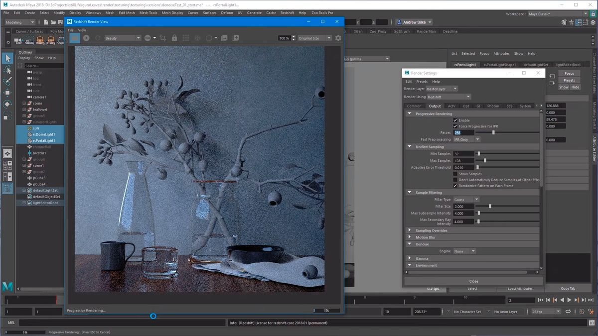 Working with Redshift 3.0.16 for maya