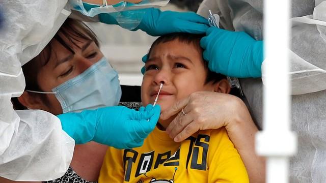 5681 Saudi child dies after swab stick breaks inside his nose 02