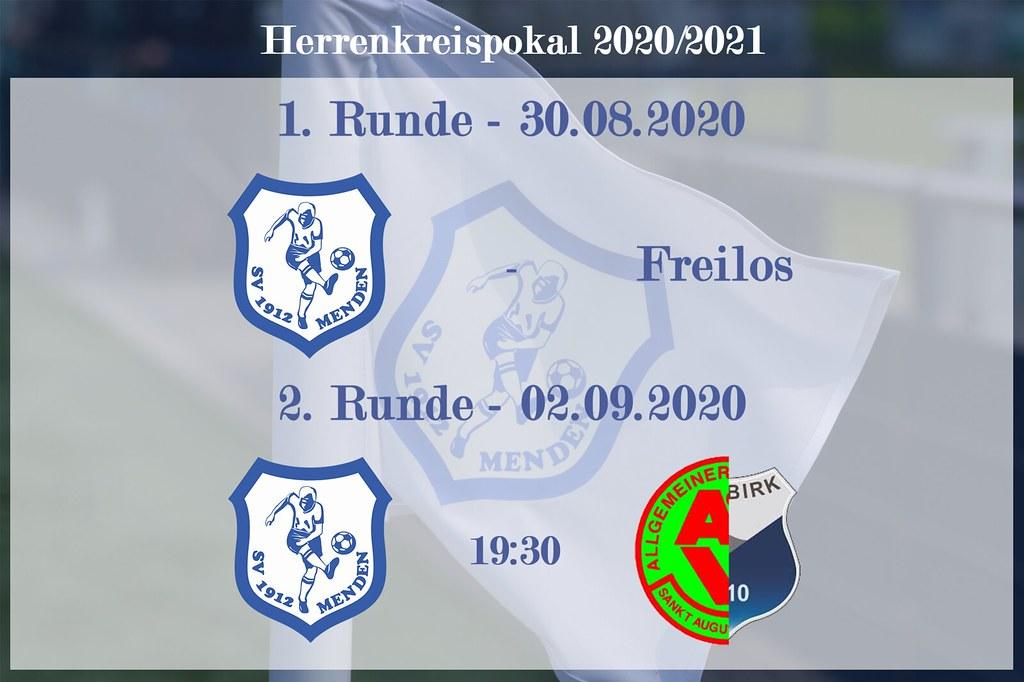 Herrenpokal 1und2 Runde