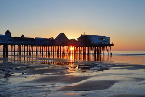 oldorchardbeach maine reyes pier ocean sunrise sunset sand beach nikon d800 amanecer playa oceano
