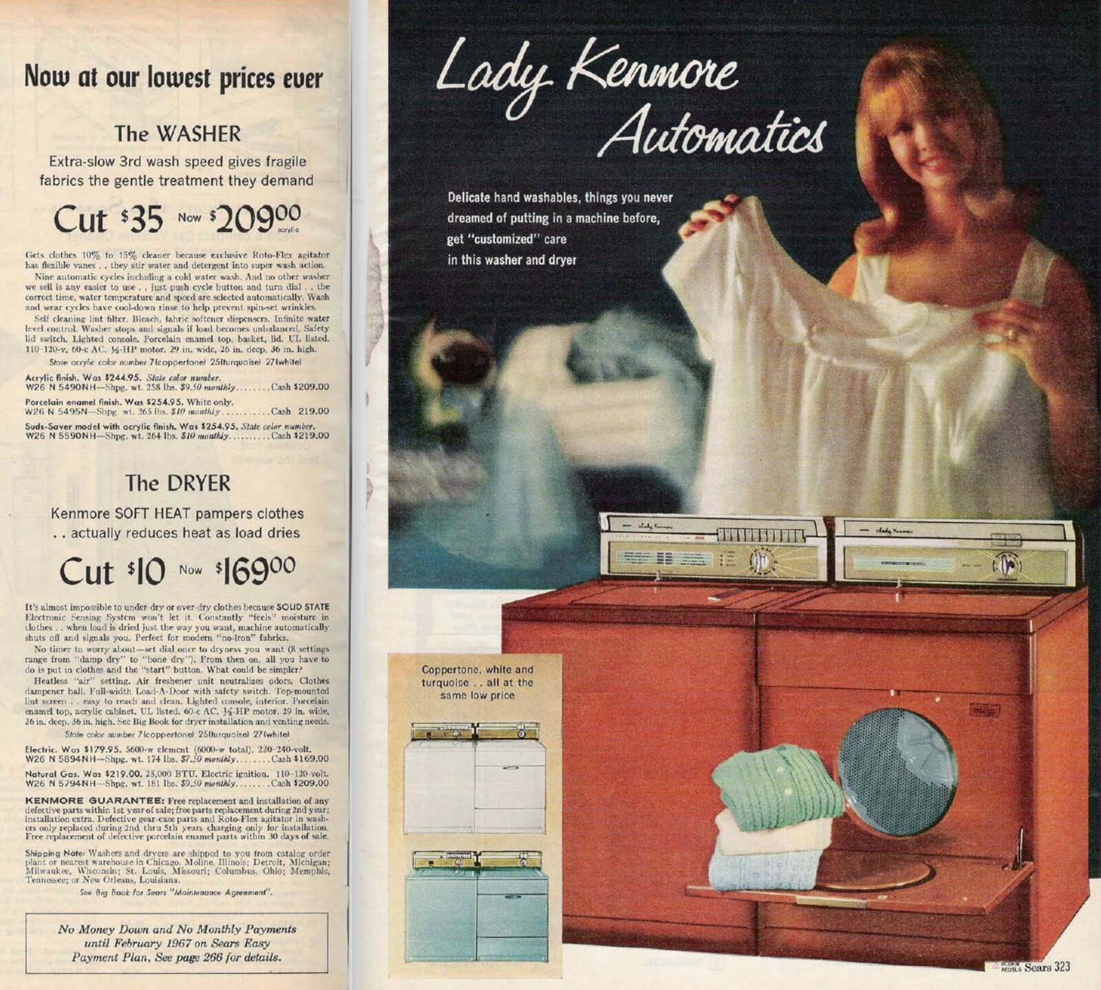 Sears Kenmore 1966