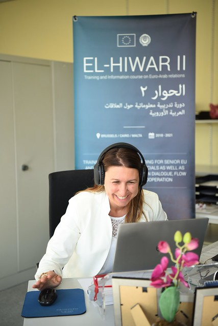 "EU-funded Project El-Hiwar II - Inter-Institutional Dialogue: ""Response to Covid-19 and Repercussions on Euro-Arab Relations"""