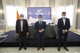 Reunió de la Junta Directiva, i Assemblea General Ordinària i Extraordinària de PIMEC