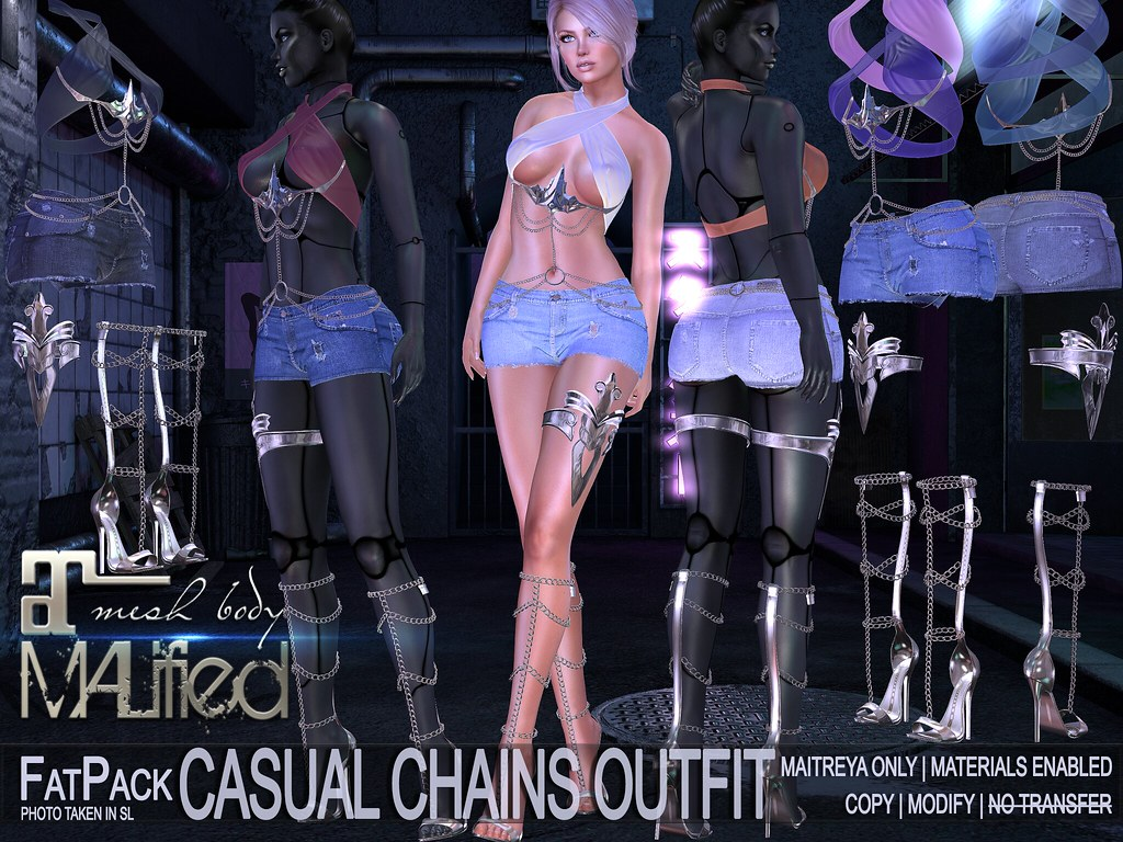 MALified – Casual Chains Outfits – FatPack