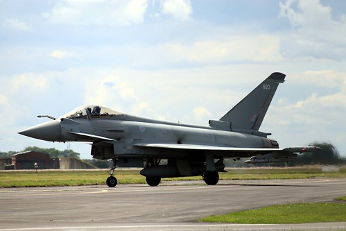 ZJ920 Typhoon FGR.4 Coningsby 10-7-20