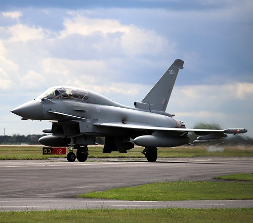 ZK383 Typhoon T.3 Coningsby 10-7-20