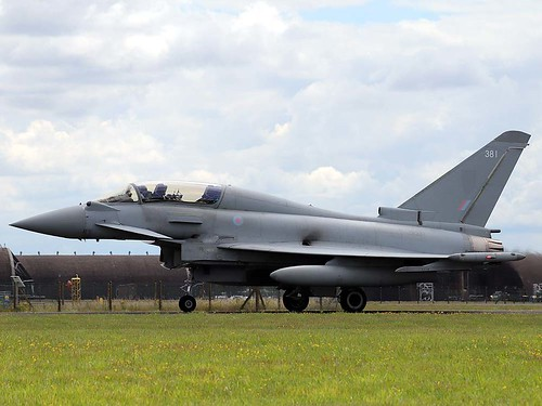 ZK381 Typhoon T.3 Coningsby 10-7-20