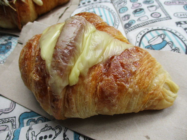 Louis Bakery cheese croissant