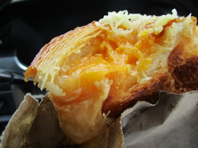 Louis Bakery salted egg yolk filling