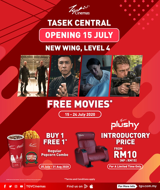 TGV Tasek Central Opening Specials 2