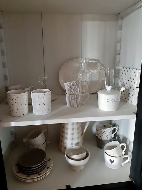Servies en glaswerk keuken