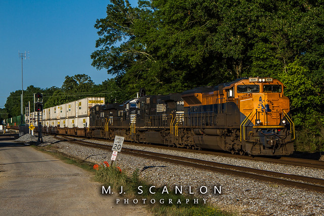 NS 1071 | EMD SD70ACe | NS Memphis District West End