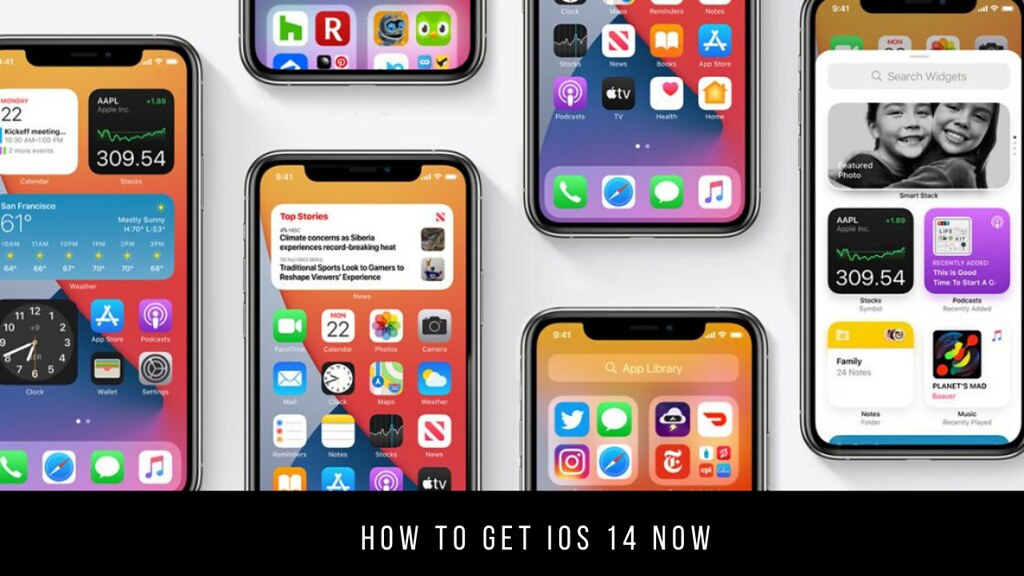 How to get iOS 14 now