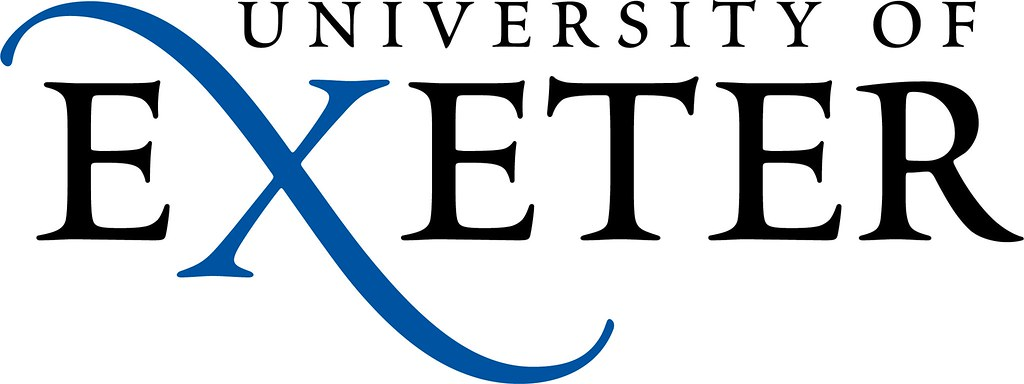 The logo of the University of Exeter