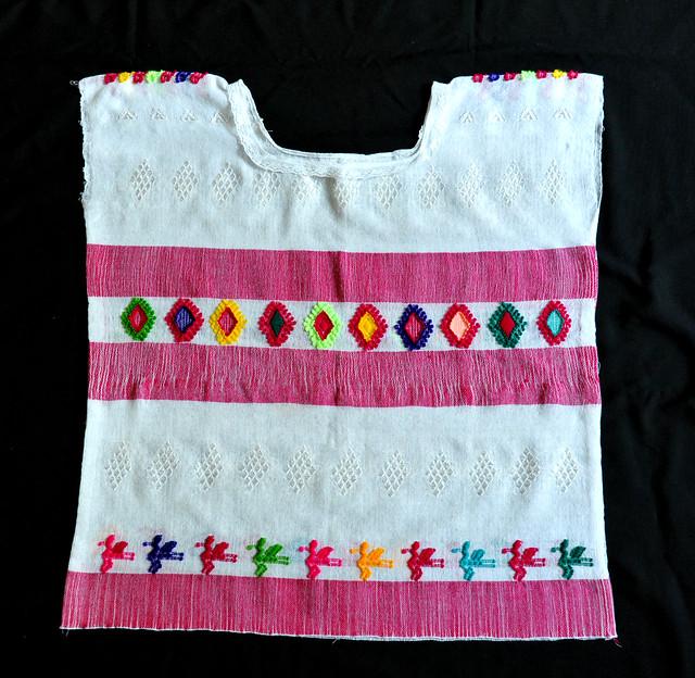 Huipil Mexico Chiapas Weavings Textiles
