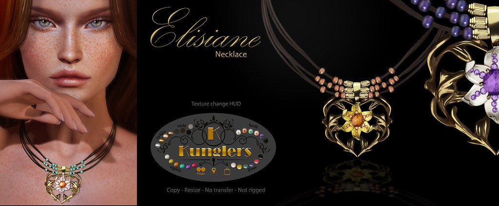 KUNGLERS - Elisiane necklace