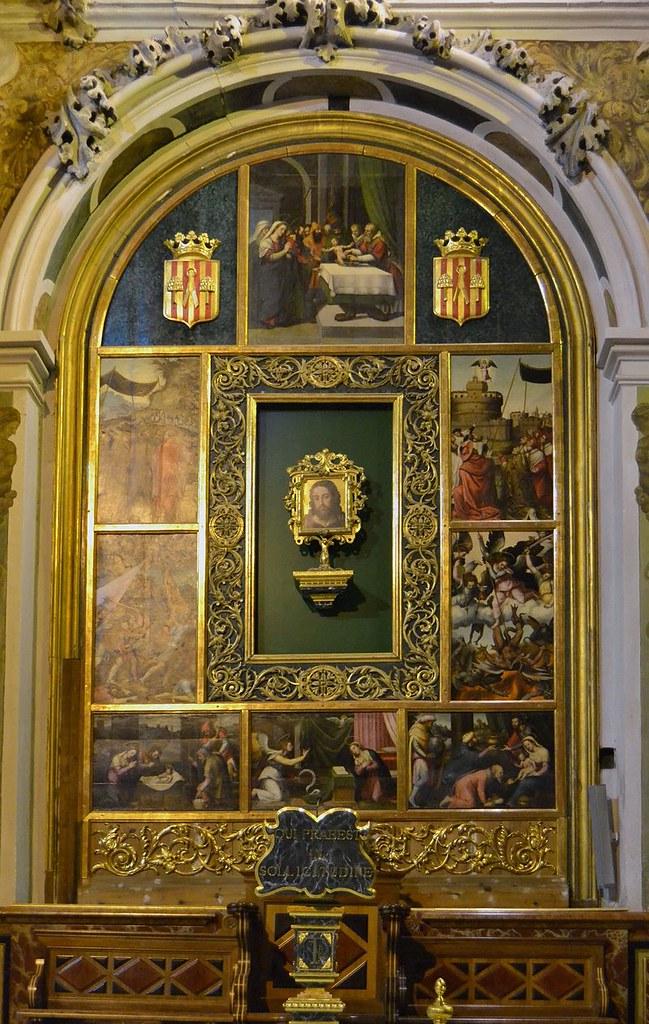 Quadres_de_Joan_de_Joanes_al_costat_de_l'altar_major,_església_de_sant_Nicolau,_València