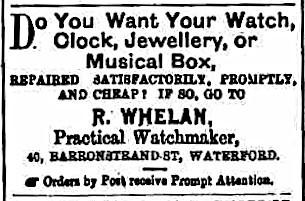 Waterford Standard - Saturday 28 September 1889