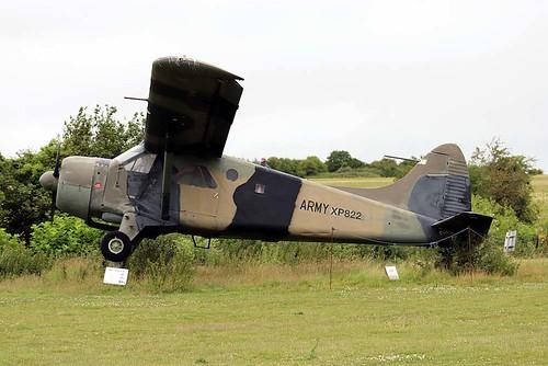 XP822 Beaver AL.1 Middle Wallop 8-7-20
