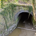 Hidden tunnel at Lower Penwortham by the Ribble