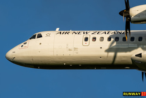 ZK-MZD | Air New Zealand | AT76 | by Zsolt Máté