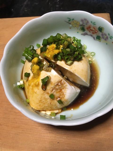 日月豆腐の茶わんとうふ