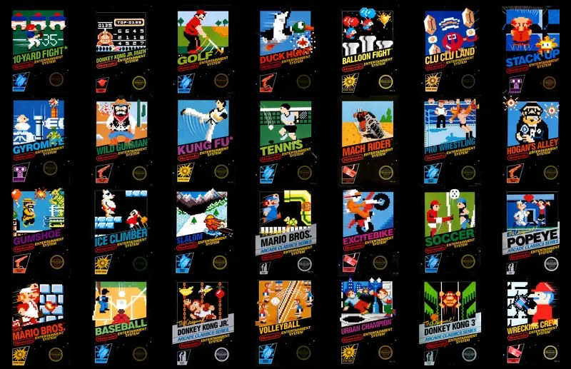 NES Pixel Covers