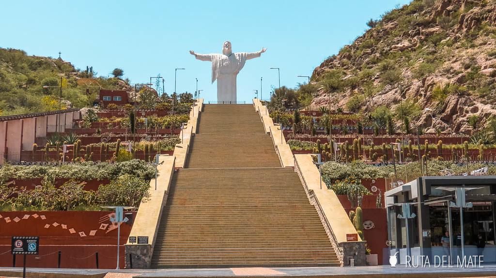 Mirador Cristo del Portezuelo, una de las cosas que ver en Chilecito