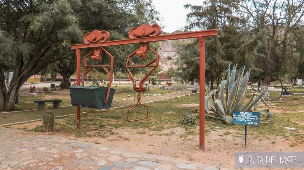 Plaza de los Mineros en Chilecito