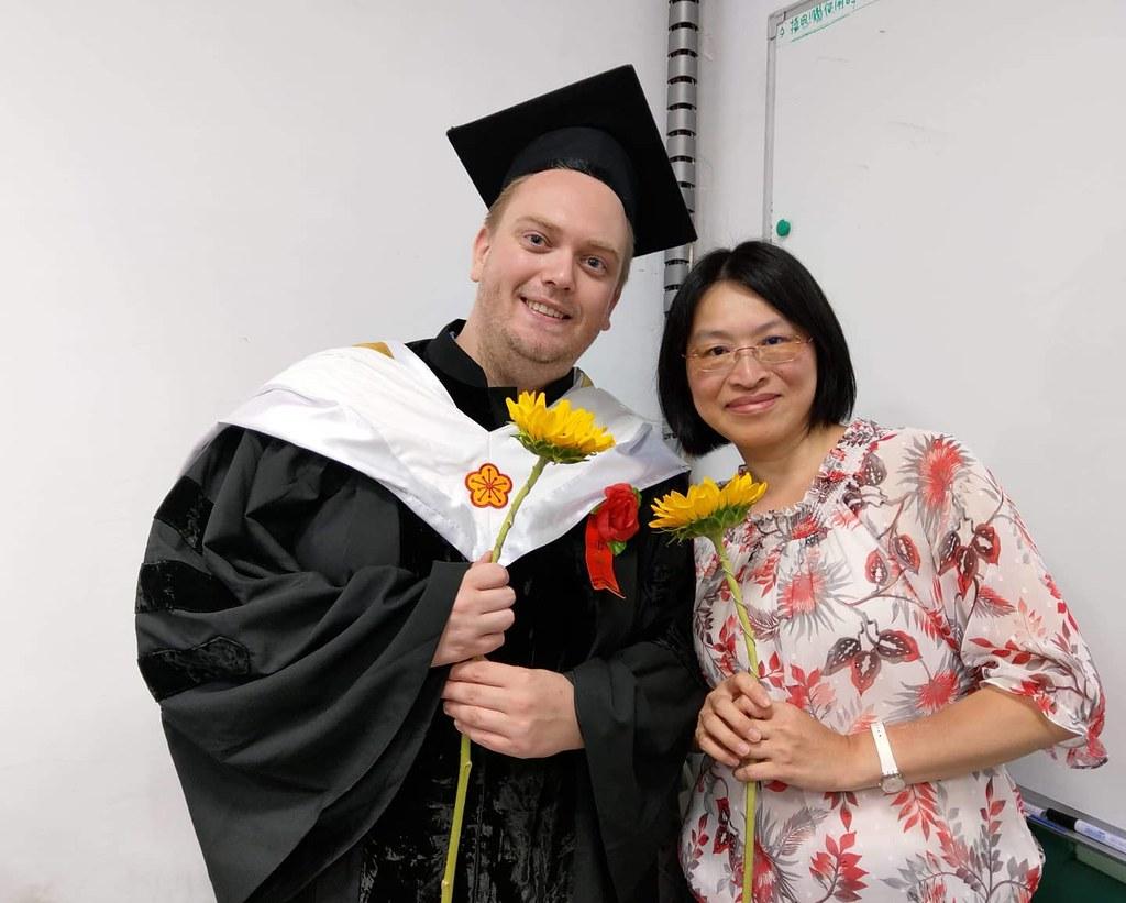 me, PhD and Chiarung, PhD