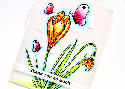 Thanks So  Much card closeup3 | by Gayatri Murali