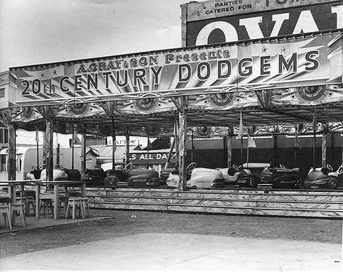 Land Prom Grayson Dodgems, Heritage Blackpool,1958