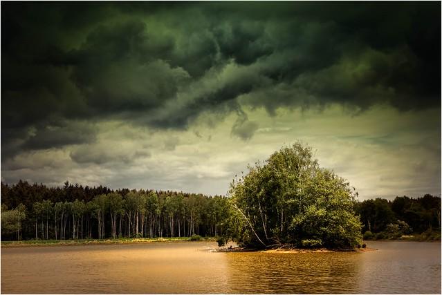 Bedrohte Insel