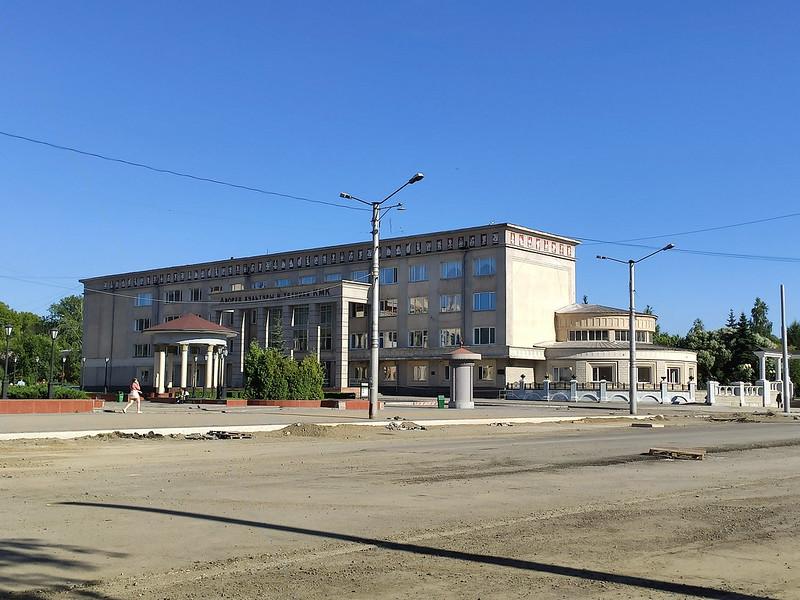 Новокузнецк -  Дворец культуры и техники металлургов КМК