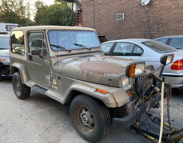 Jeep YJ Sahara Edition