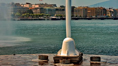 The jet d'eau, Geneva