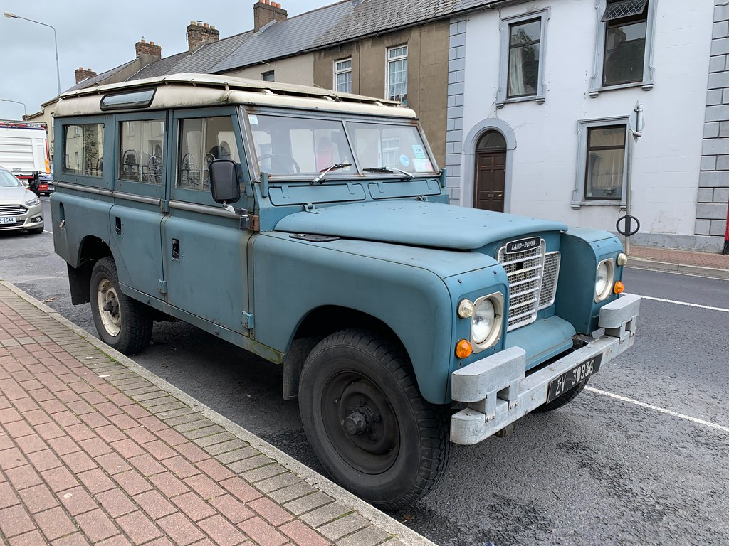 Old Land Rover - Limerick, Ireland.