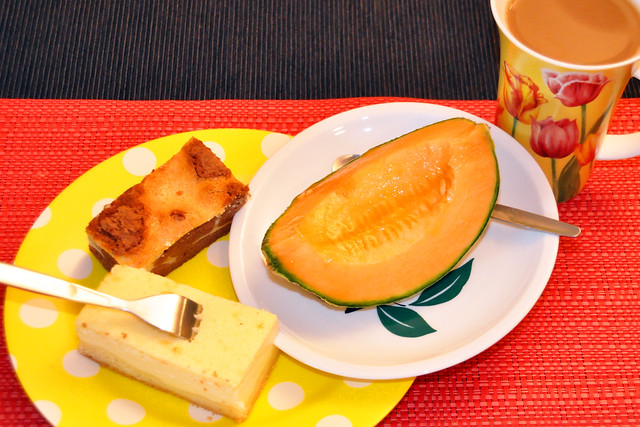 Juli 2020 ... Kaffee, Kuchen, Cavaillon-Melone ... Brigitte Stolle