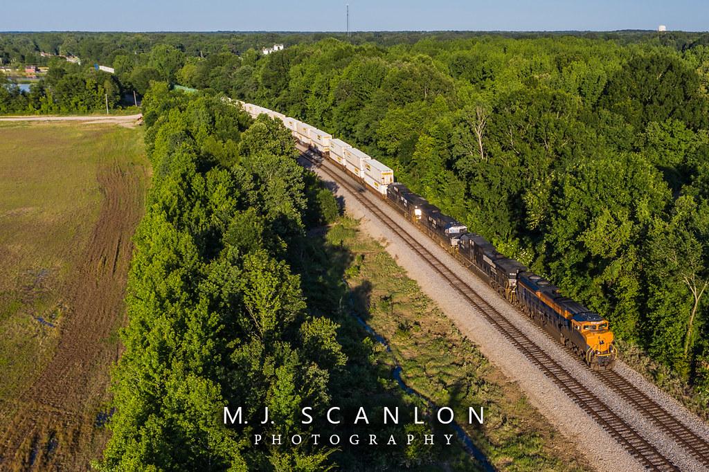 NS 1071 | EMD SD70ACe | NS Memphis District West End