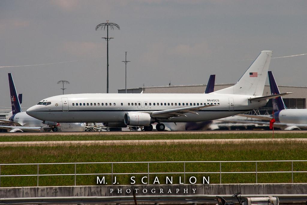 N640CS Justice Prisoner & Alien Transportation System | Boeing 737-4Y0 | Memphis International Airport