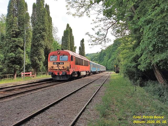 H-START 418 164 (M41 2164) Porva-Csesznek, 2020. 05. 18.