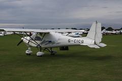 G-CICG Ikarus Comco C-42 [1304-7259] Sywell 310819