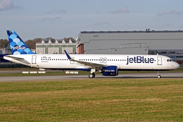 JetBlue Airbus A321-271NX D-AVZQ (N2043J) XFW 11-03-20